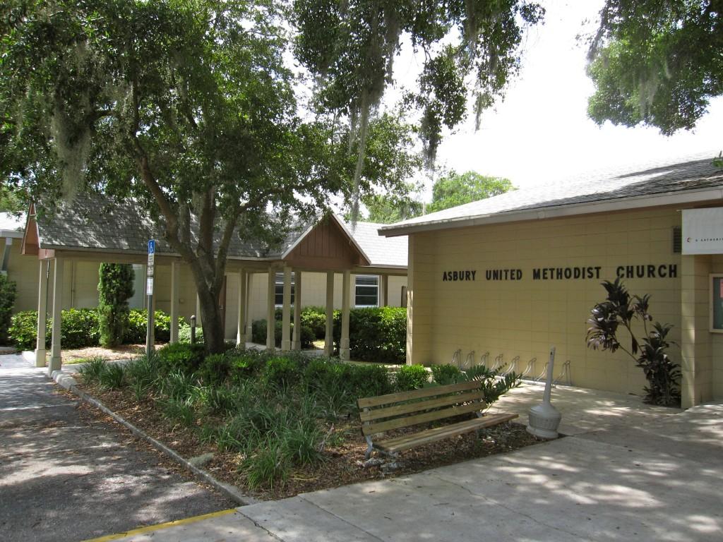 Объединённая методистская церковь Эсбери в Мэйтланде, Флорида, где Кип впервые начал изучать Библию!