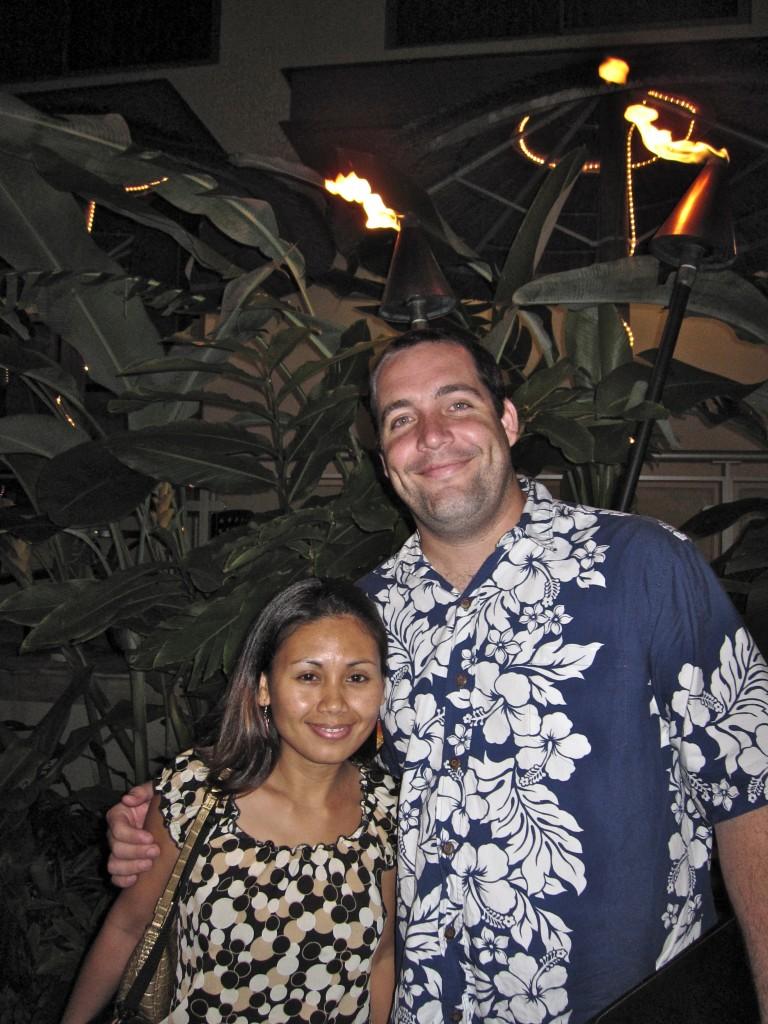 Кайл и Джоан Бартоломью в Гонолулу в 2006!