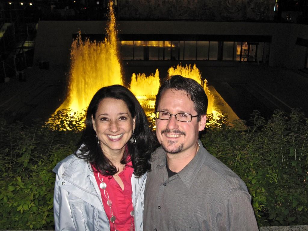 Крис и Тереза Брум в Чикаго в 2007!