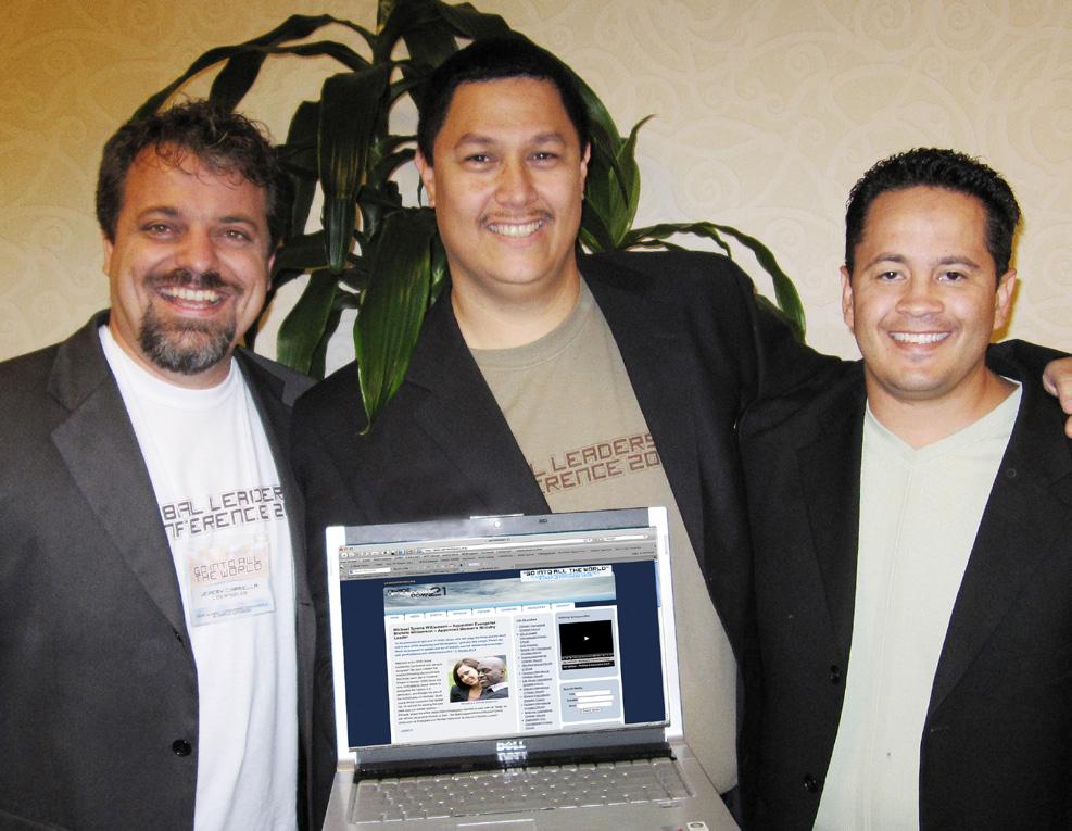 КиберЕвангелисты: Джереми Чарамелла, Роб Онекеа и Рон Хардинг