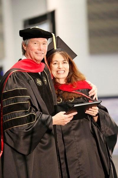 Поздравления Елене в получении степени магистра в служении от МКХС, где она служит в качестве декана женщин и профессора!