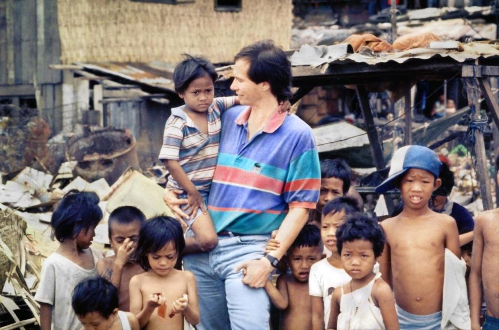 Кип МакКин в пригороде Манилы в 1989!