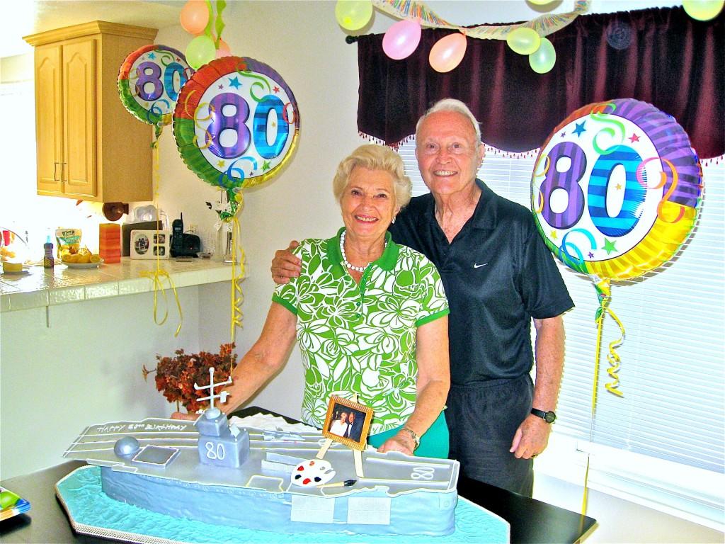 Оба родителя Кипа - Том и Кип - отпраздновали своё восьмидесятилетие летом 2008!